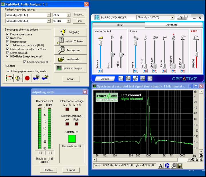 Rightmark audio analyzer 5.5